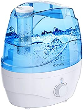 Homasy Cool Mist 28dB Whisper-Quiet Humidifiers