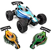 Remote Cars for Boys or Adults - Komoto RC Buggy Remote Control Car Toys w/ Off Road RC Car Tires, Fast Electric Stunt Radio Control Cars for Kids