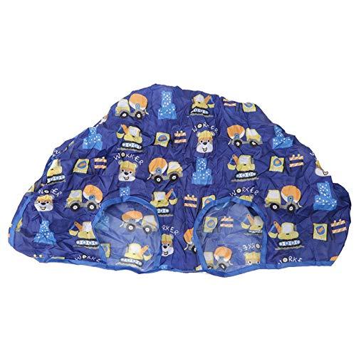 FOLOSAFENAR Funda para Trona para bebés Herramientas de alimentación duraderas de poliéster Ponge para recién Nacidos(Blue Series)