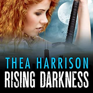 Rising Darkness     Game of Shadows, Book 1               By:                                                                                                                                 Thea Harrison                               Narrated by:                                                                                                                                 Sophie Eastlake                      Length: 9 hrs and 36 mins     413 ratings     Overall 4.1