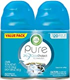 Air Wick Pure Freshmatic 2 Refills Automatic Spray, Fresh Waters, Air Freshener, Essential Oil, Odor Neutralization, Packaging May Vary, 5.89 Ounce