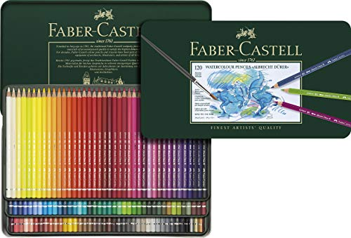 Albrecht Durer 120 Watercolor Pencil Set Tin