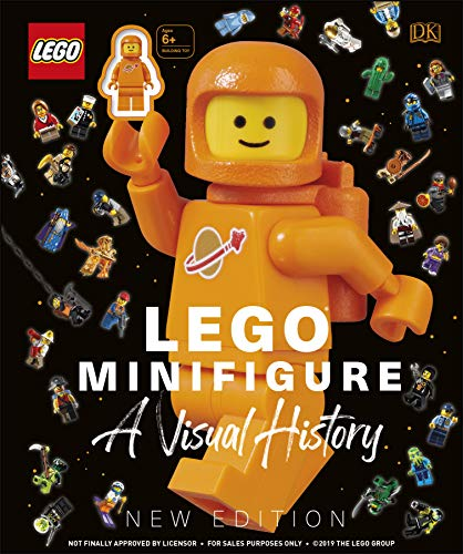 LEGO Minifigure A Visual History New Edition: With exclusive LEGO spaceman minifigure!