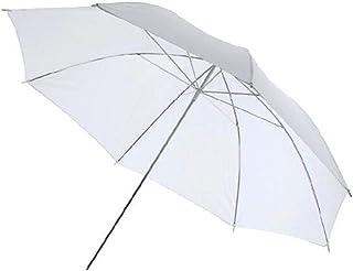 "Saikogoods 写真傘のサイズ33"" 84センチメートルフォトスタジオフラッシュライトリフレクター反射白黒写真傘 白"
