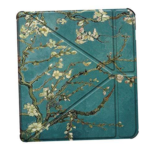 IPOTCH Materiales de cuero de la Pu funda para el lector de libros electrónicos funda para Kobo libro práctica para el uso diario - Tipo 5