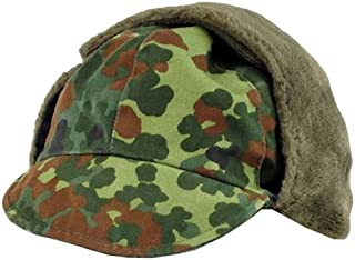 German Army (Bundeswehr) Winter Cap - Flecktarn CAMO