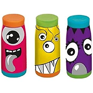 New York Gift Kids Monster Flask - 350 mililitre Capacity - Assorted Designs
