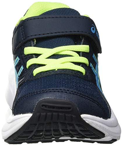 Asics Jolt 3 PS, Road Running Shoe, French Blue/Digital Aqua, 35 EU