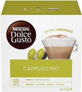 Nescafé - Réf. 12019905 - Dosettes / Capsules de Café Cappuccino Nescafé Dolce Gusto® - Pack de 48 - Pour Machine Uniquement
