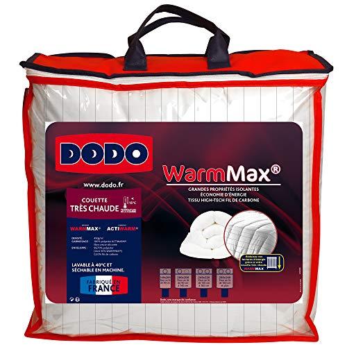 Do Wrap Performance Headwear Dodo Caldo Max Trapunta, Molto Caldo, 200x 200cm, Fibra Sintetica, Bianco
