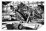 Postereck - Poster 2490 - Vintage Flugzeug, Propeller