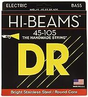 DR ベース弦 HI-BEAM ステンレス .045-.105 MR-45 3SET