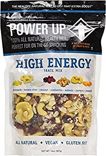 POWER UP HIGH ENERGY TRAIL MIX-2- (14 oz bags) BUNDLE