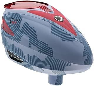 Dye Rotor Electronic Paintball Hoppers - Bomber Steel
