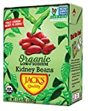 Jack's Organic Kidney Beans (8 PACK) – Filled with Protein & Fiber, Heart Healthy, Low Sodium, Non...