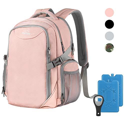 OUTXE Kühltasche Rucksack 22L Picknicktasche Lunchtasche für Camping Wandern Picknick