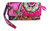Vera Bradley Smartphone Wristlet for iPhone 6 (Pink Swirls with Solid Pink Interior Lining)