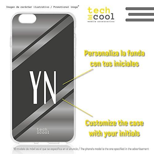 Funnytech® Funda Silicona para iPhone 5 / 5S / SE [Gel Silicona...