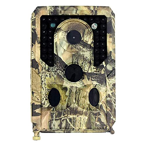 Baalaa Trail Camera Wish 8 GB TF tarjeta 12MP 1080 p visión nocturna infrarroja fauna Scouting Cámaras Caza Cámara 1