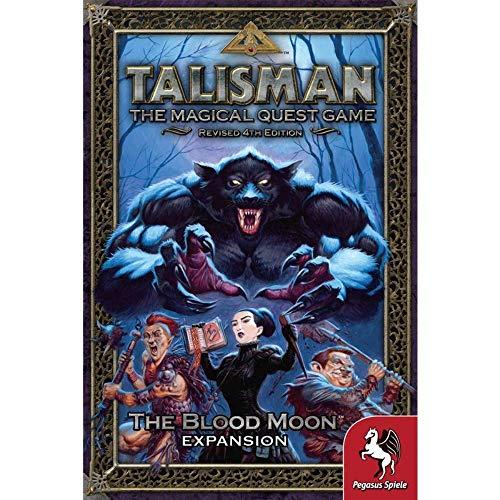 Pegasus Spiele 56207E Talisman The Blood Moon - Juego de Mesa [Importado...