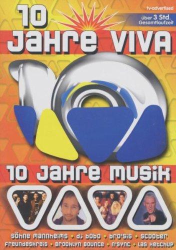 Various Artists - 10 Jahre VIVA: 10 Jahre Musik [Alemania] [DVD]