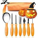 Halloween Pumpkin Carving Kit 7 Pcs,Stainless...