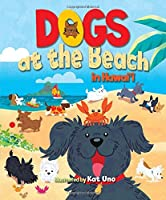 Dogs at the Beach in Hawaii