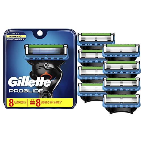 Gillette ProGlide Men's Razor Blades, 8 Blade Refills