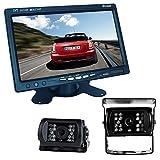 buyee® Car Kit de la Visión Trasera Marcha Atrás Visión Nocturna 2* 18IR LED color Carmedien CM-ESRFS Sistema coche + 7Inch TFT LCD monitor