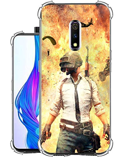 Snazzy Soft Shock Proof Drop Protection Designer Back Cover for Realme X