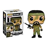Lotoy Funko Pop Games - Call of Duty MSGT. Frank Woods #69 Vinyl 3.75inch Collectible Figure for Games Fans Anime Derivatives Gift