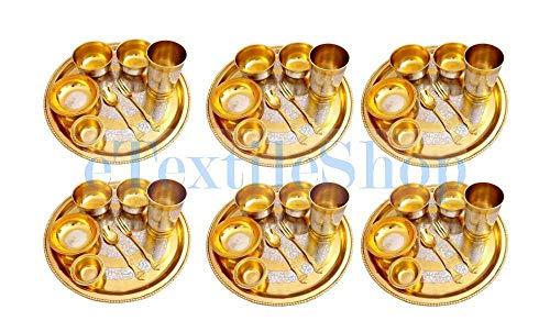 eTextileShop Silver Plated Brass...