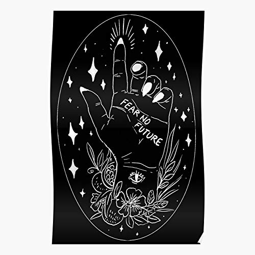 Hardymedicalsupplies Occult Black White Palmistry and Home Decor Wandkunst drucken Poster !