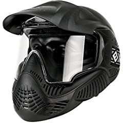 Provides front face protection to the face with adjustable head straps Double-pane Thermal Lens resists fogging and scratches Dual layered internal foam for comfortable fitting, including comfortable, unique padding behind the ear Upwards of 160 degr...