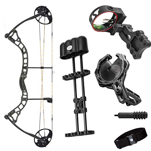 Archery 2021 Diamond Infinite 305 | Green Country Roots | RH 7-70 LBS | Compound Bow Package | Draw Length 19-31' | Fully Adjustable