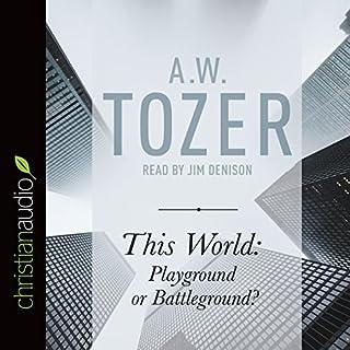 This World: Playground or Battleground? cover art