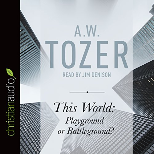 This World: Playground or Battleground? audiobook cover art