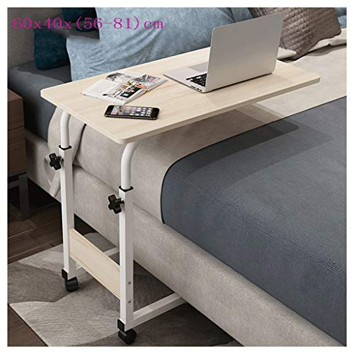 LSRRYD - Mesa de ordenador portátil ajustable en altura para cama o sofá, mesa auxiliar para cama de anciano