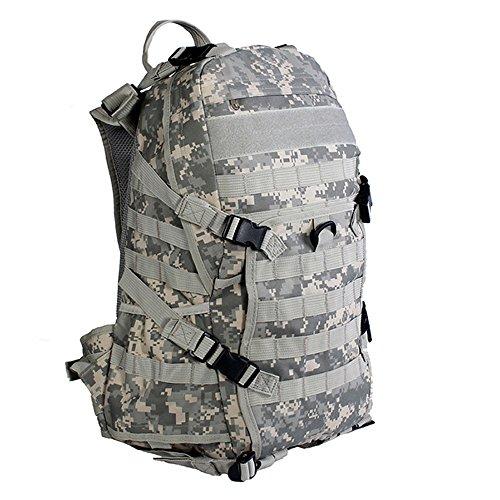 emansmoer Camo Armée Militaire Tactical Combat Outdoor Sac à Dos Randonnée Camping Trekking Escalade Voyage Chasse Sac (ACU)