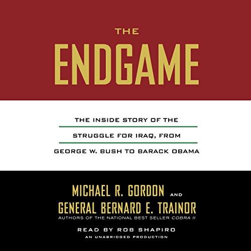 The Endgame audiobook cover art
