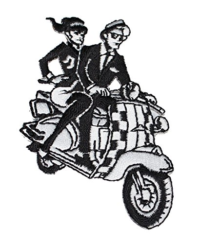 C&D Visionary Application SKA Kids On Scooter Patch