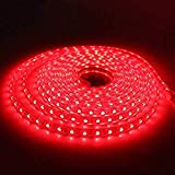 Tiras LED SMD5050 60 Led/m 220v (2 Metros Rojo) Ip65 Impermeable Con Enchufe Para Fiesta ONSSI LED