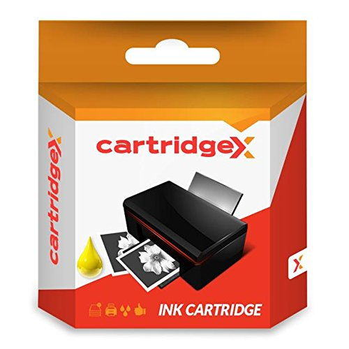 Cartridgex - Cartucho de Tinta Compatible para Impresora Brother MFC-J6935DW MFC J6935DW LC3217Y LC3217, Color Amarillo