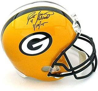 Brett Favre Signed Helmet - Riddell Full Size - Autographed NFL Helmets