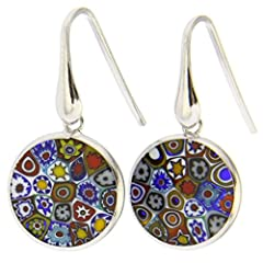 AUTHENTIC: High quality authentic Murano Glass hand-made in Venice, Italy. UNIQUE: Each piece is crafted entirely by hand using ancient glass-making techniques. No two pieces are exactly the same. MEASUREMENTS: MEASUREMENTS: Diameter approximately 5/...