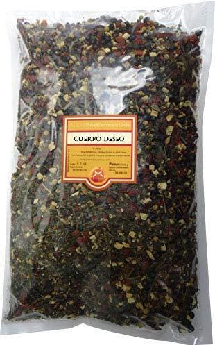 SABOREATE Y CAFE THE FLAVOUR SHOP Té Rojo PU Erh Yunnan China Cuerpo del Deseo Superior En Hoja Hebra A Granel Infusión Natural Adelgazante 1 kg