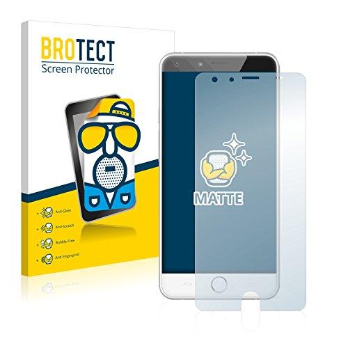 BROTECT 2X Entspiegelungs-Schutzfolie kompatibel mit Ulefone Be Touch 2 Bildschirmschutz-Folie Matt, Anti-Reflex, Anti-Fingerprint