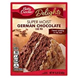 Betty Crocker German Chocolate Cake Mix 432 g (mezcla de chocolate alemán)