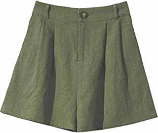 XinDao Women's Summer Classic Fashion Comfortable Culottes Elastic Waist Wide Leg Pocket Casual Shorts