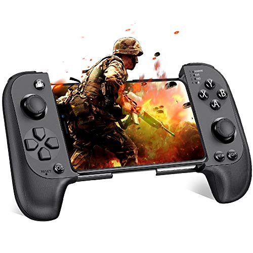 BEBONCOOL Android Controller per iPhone/iOS Joystick Android Wireless per PUBG Mobile Controller Telefono Joystick Smartphone Gamepad Android Joypad Cellulare per Arena of Valor/Knives Out[Migliorata]